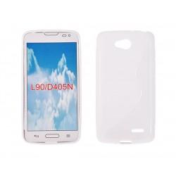Silicone S-Line LG L90 white