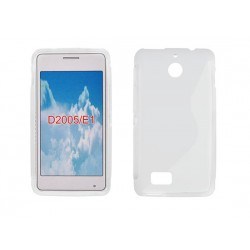 Silicone S-Line Sony Xperia E1 transparent