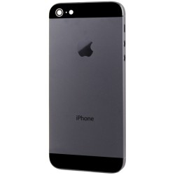 iPhone 5 BackCover black HQ