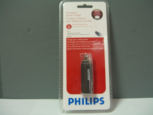 Philips Travel Charger SCE2110 power to go ORIGINAL