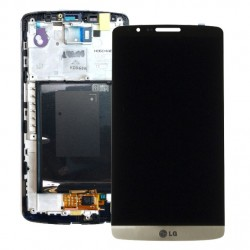 LG G3 Lcd+Touch Screen+Front Gold ORIGINAL