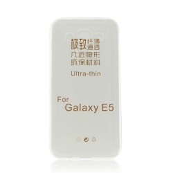 Samsung Galaxy E5/E500 Ultra Slim 0.3mm Silicone Transparent