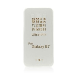 Samsung Galaxy E7 Ultra Slim 0.3mm Silicone Transparent