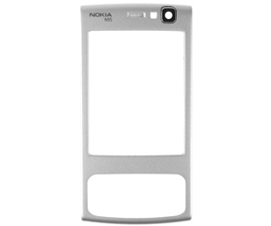 Nokia N95 FrontCover silver ORIGINAL