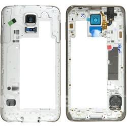 Samsung Galaxy S5/G900 MiddleCover gold ORIGINAL