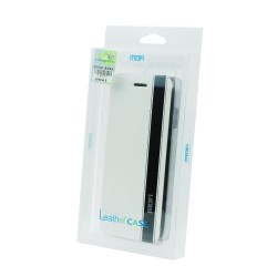 Samsung Galaxy S5/G900 Mofi Leather Case white