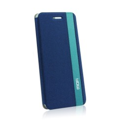 Samsung Galaxy S5/G900 Mofi Leather Case blue