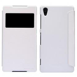 Sony Xperia E4 Nillkin Sparkle Folio Case white