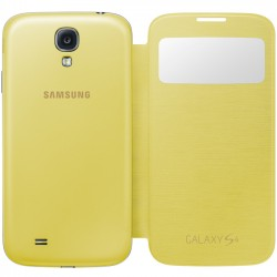 Samsung i9500 EF-CI950BYE S-View Case yellow