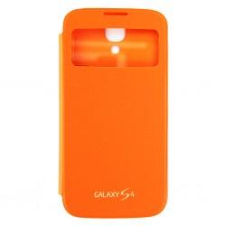 Samsung i9500 EF-CI950BOE S-View Case orange
