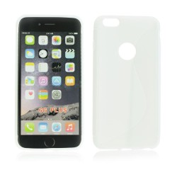 Silicone S-Line iPhone 6 Plus white