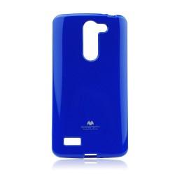 LG L Bello D331 Jelly Silicone blue
