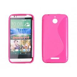 HTC Desire 510 Silicone S-Line pink