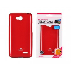 LG L90 D405 Jelly Silicone red