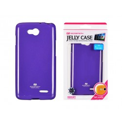 LG L90 D405 Jelly Silicone violet