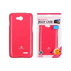 LG L90 D405 Jelly Silicone dark pink