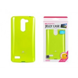 LG L Bello D331 Jelly Silicone lime