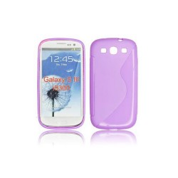 Samsung Galaxy i9300-i9301 S-Line Silicone violet