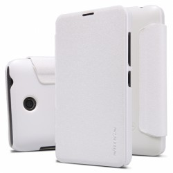 Microsoft Lumia 435 Nillkin Sparkle Folio Case white