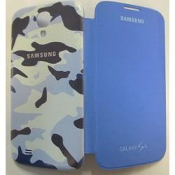Samsung i9500 EF-FI950MIMEBLU Book Case blue mimet