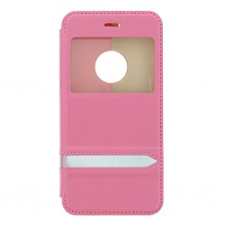 """Iphone 6 4,7"""" Usams Merry S-view Case Pink"""