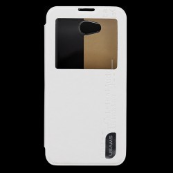LG L90 Usams Merry Book Preview Case white