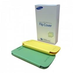 Samsung i9190 Galaxy S4 Mini EF-FI919BZE Book Case green-yellow