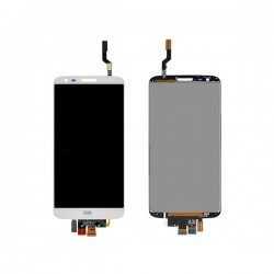 LG G2 Lcd+Touch Screen w/o Frame white HQ