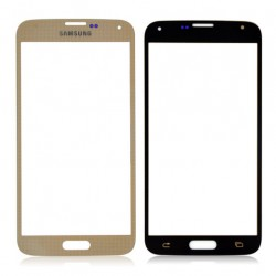 Samsung G900 Galaxy S5 Glass Lens gold HQ