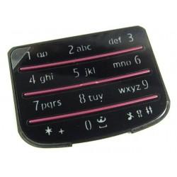 Nokia 6700c Keypad Numeric matt black ORIGINAL