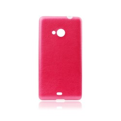 Microsoft Lumia 540 Jelly Leather 0,3mm Silicone Red