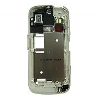 Nokia C6-00 MiddleCover white ORIGINAL