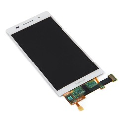 Huawei P6 Ascend Lcd+Touch Screen white HQ