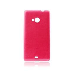 Sony Xperia M4 Aqua Jelly 0,3mm Silicone red