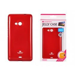Microsoft Lumia 535 Jelly Silicone 535 red