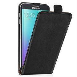 Samsung Galaxy S6 Edge Plus Slim Flip Case black