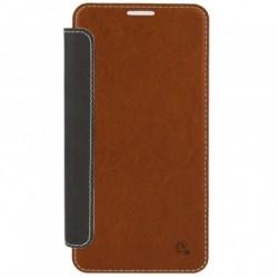 Samsung Galaxy S6 Edge Plus 4Smarts NOORD Book Case brown