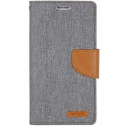 Samsung Galaxy S6 Mercury Canvas Case grey