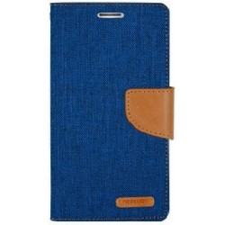Samsung Galaxy S6 Mercury Canvas Case blue