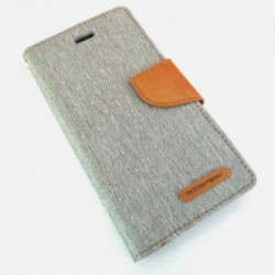 Samsung Galaxy A3 Mercury Canvas Case grey