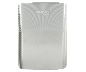 Nokia E72 BatteryCover metal grey ORIGINAL