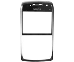 Nokia E71 FrontCover black ORIGINAL