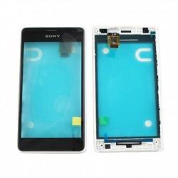 Sony Xperia E1 FrontCover+Touch Screen black ORIGINAL