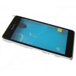 Sony Xperia E1 FrontCover+Touch Screen white ORIGINAL