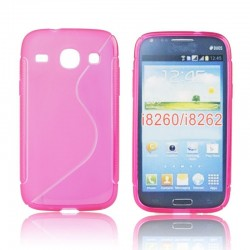 Silicone S-Line Samsung i8160 Galaxy Ace 2 pink