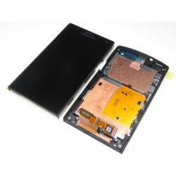 Sony Xperia S/LT26i Lcd+Touch Screen+FrontCover black HQ