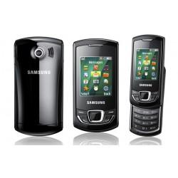 Samsung E2550 BatteryCover black ORIGINAL