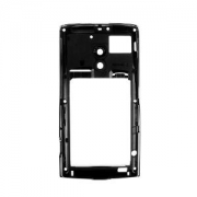 Sony Ericsson X10 MiddleCover metallic-black ORIGINAL