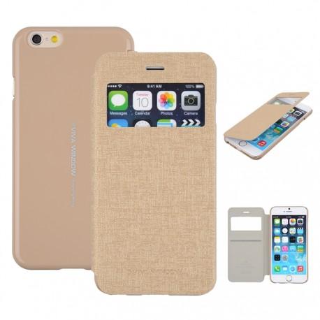 "Mercury Viva Case Window iPhone 6 4.7"" gold"