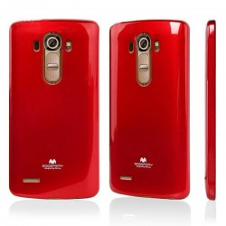LG G4 Jelly Silicone red